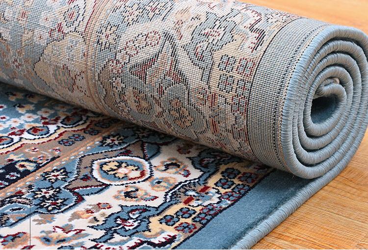 最高級品 【ペルシャ絨毯】 シルク 100%本物保証トルコ産160cm*230cm★ 160万縫い針 美術品 重さ:17.5KG_画像8