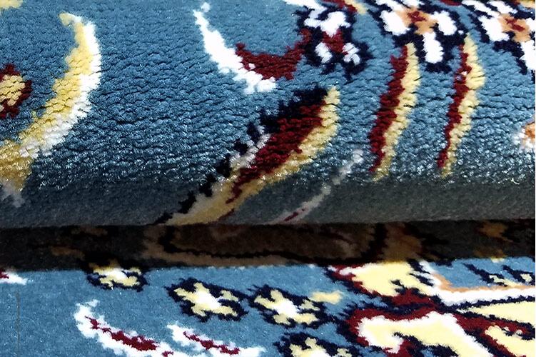 最高級品 【ペルシャ絨毯】 シルク 100%本物保証トルコ産160cm*230cm★ 160万縫い針 美術品 重さ:17.5KG_画像9