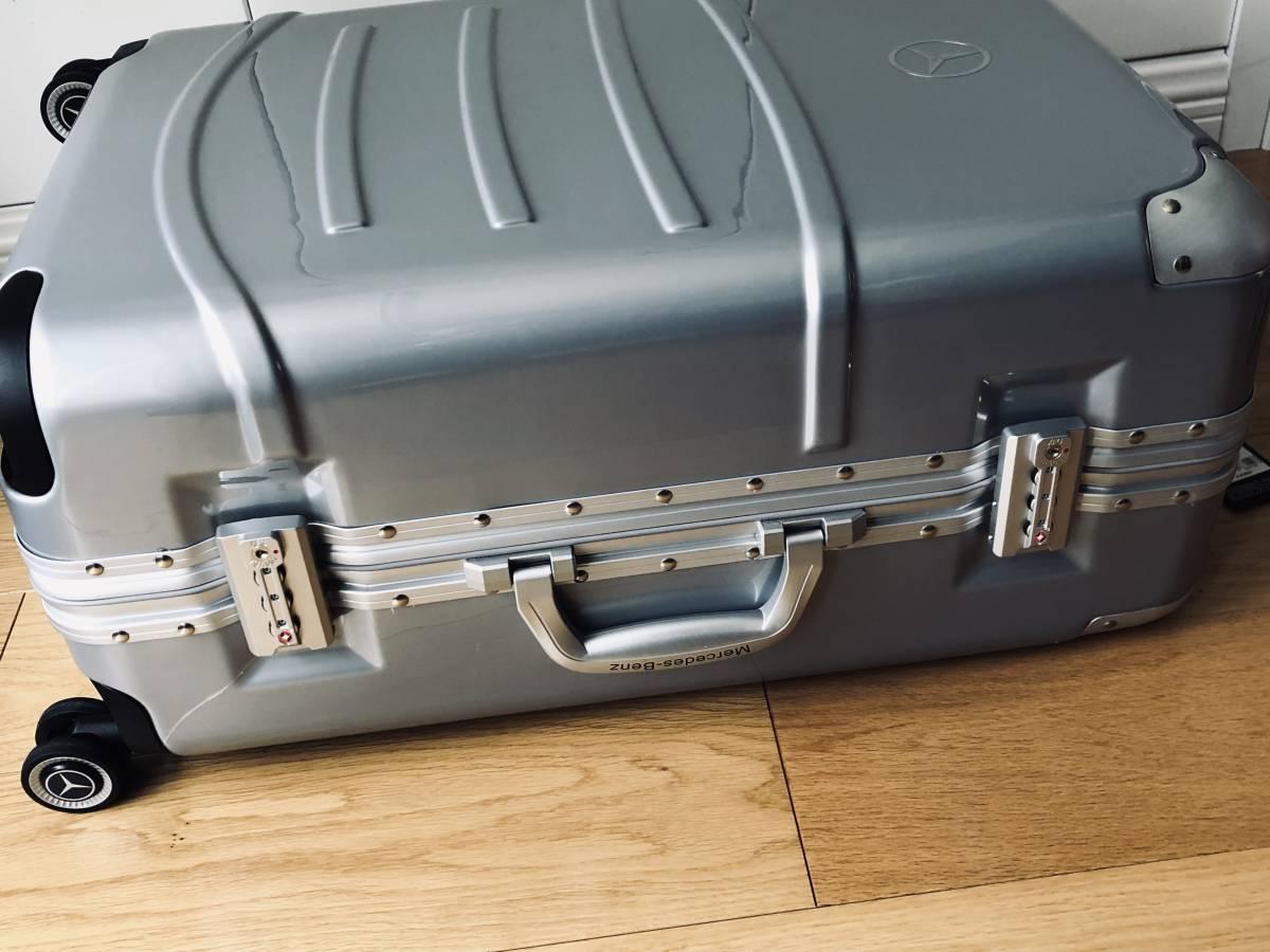 最高級★Mercedes-Benz ★アルミフレーム・軽量/静音・オリジナル・スーツケース/キャリーケース※24インチ※シルバー_画像7