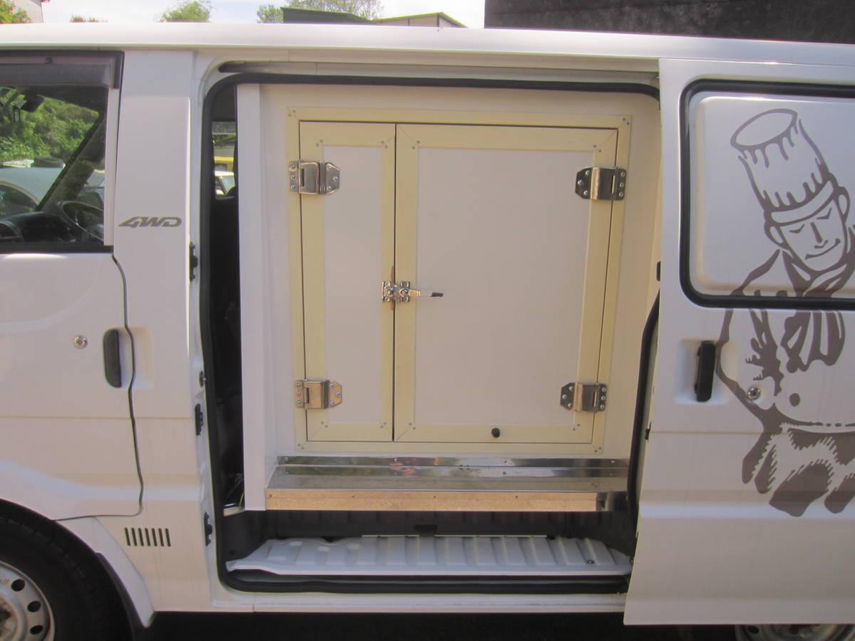 2室式冷蔵冷凍車 マツダ ボンゴ マイナス20度 /5MT/4WD ターボディーゼル 売り切り_画像4