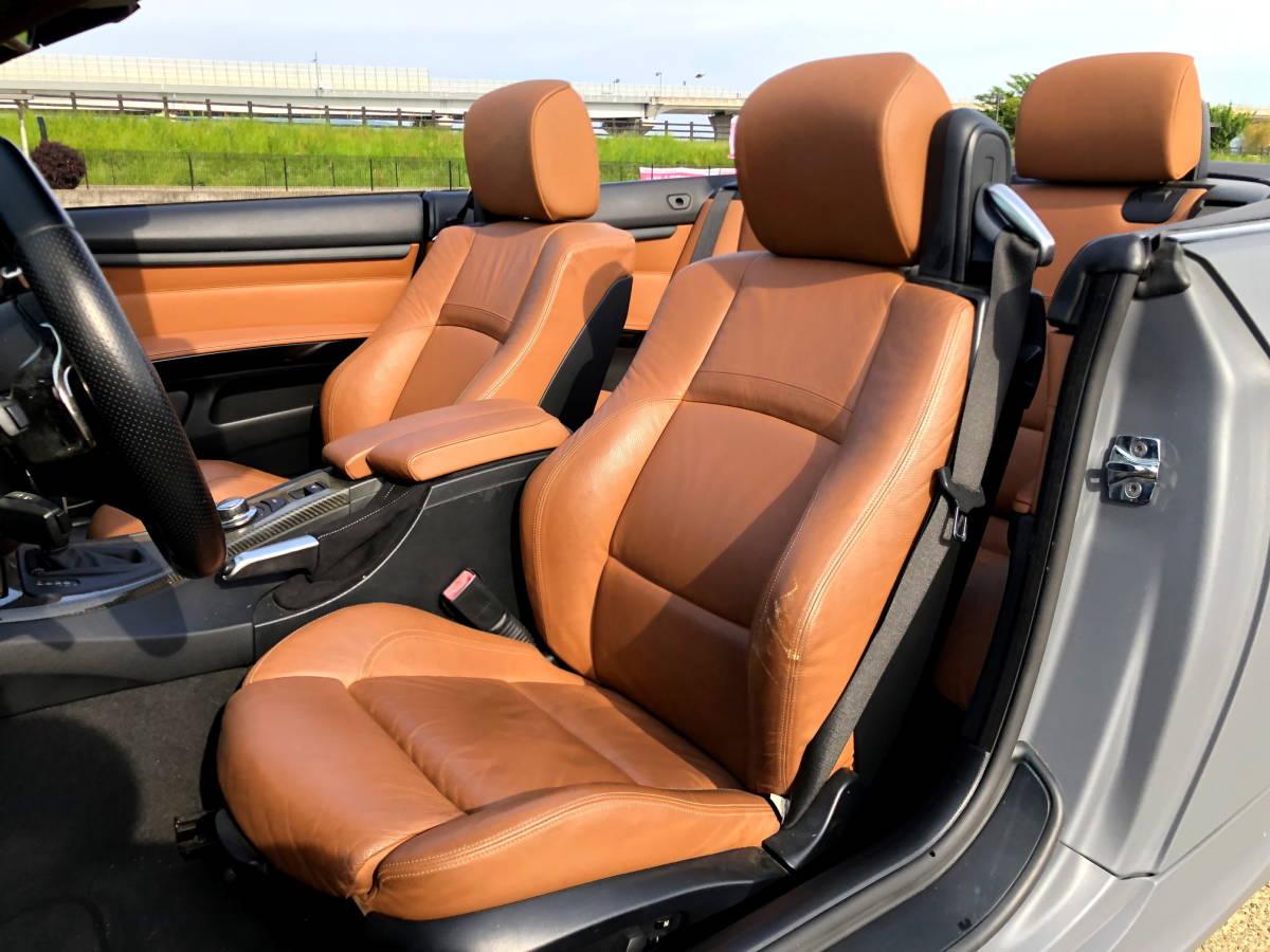売切 BMW 335i Mスポーツ カブリオレ オープンカー 左ハンドル 走行55,000キロ 車高調 マフラー HID 20インチホイール フルカスタム_画像6