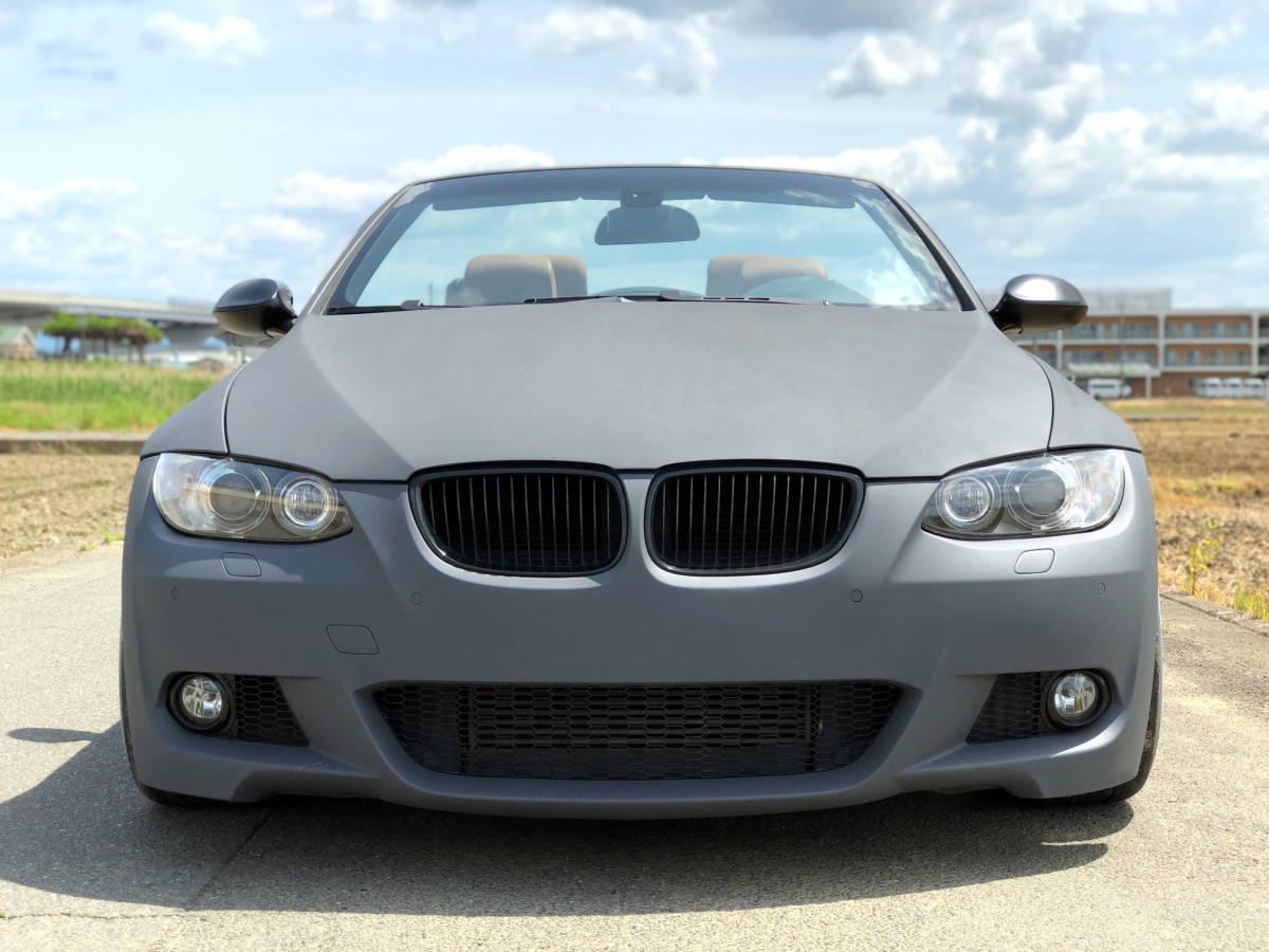 売切 BMW 335i Mスポーツ カブリオレ オープンカー 左ハンドル 走行55,000キロ 車高調 マフラー HID 20インチホイール フルカスタム_画像4