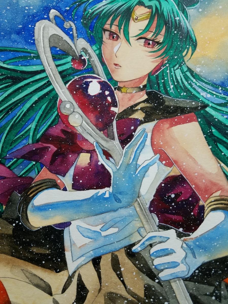 ヤフオク 同人手描きイラスト 美少女戦士セーラームーン