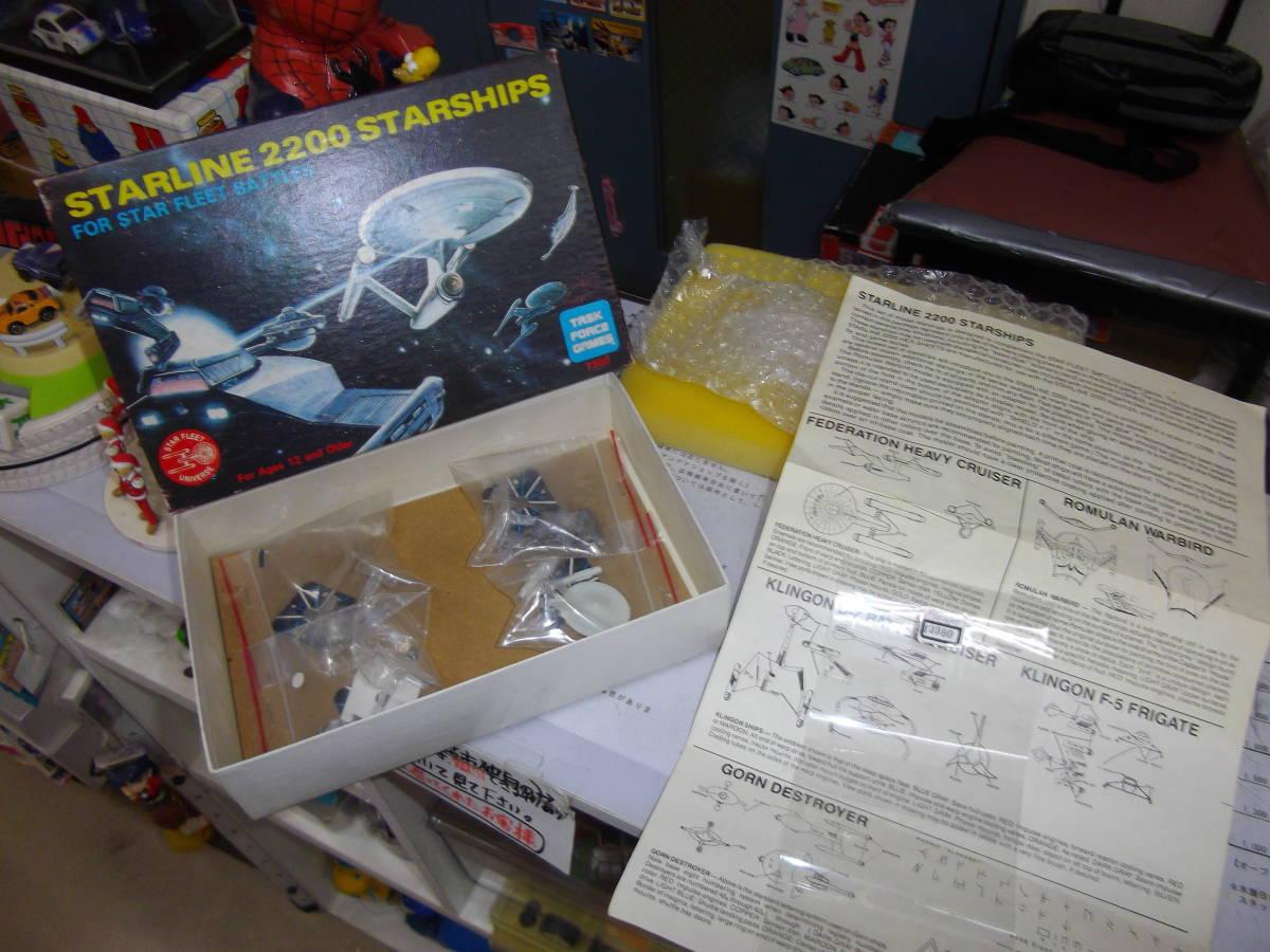 ◆令和スタート!◆スタートレックの『ダイキャスト宇宙船セット』◆未組立【boxman_77】_出品の為、開放撮影中です。