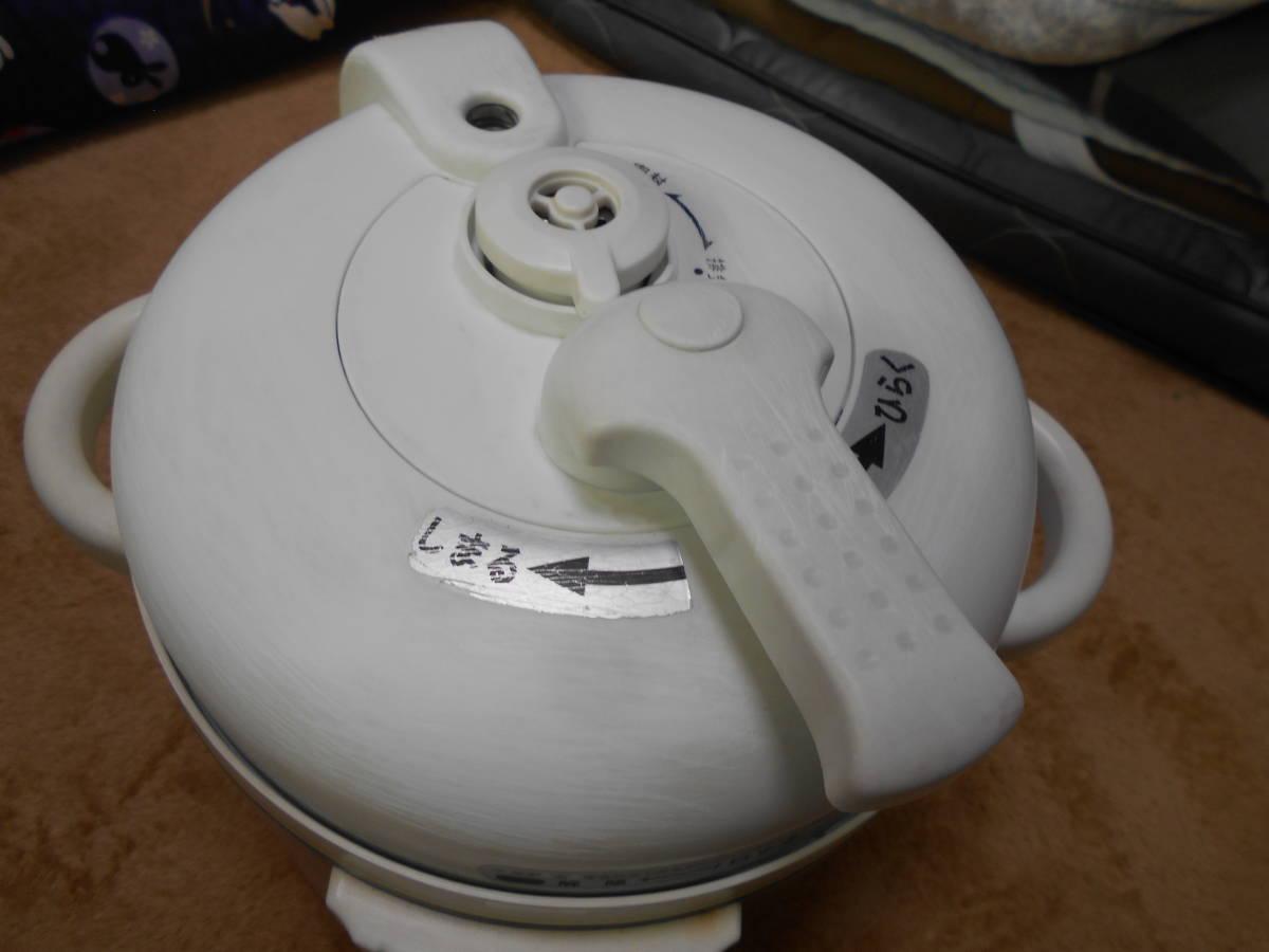 ◆圧力式電気鍋/LPC-T12【1・2L】15年製_画像3
