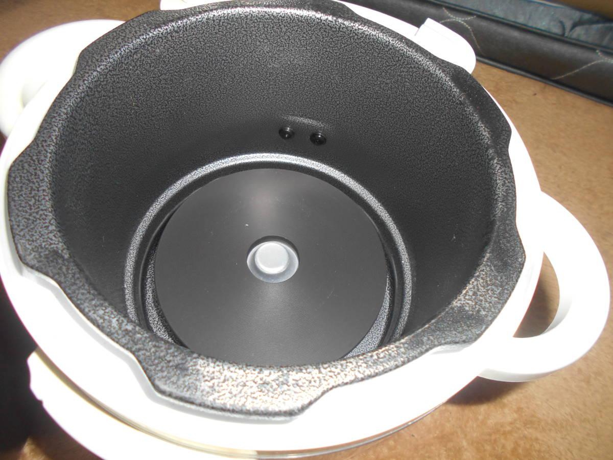 ◆圧力式電気鍋/LPC-T12【1・2L】15年製_画像7