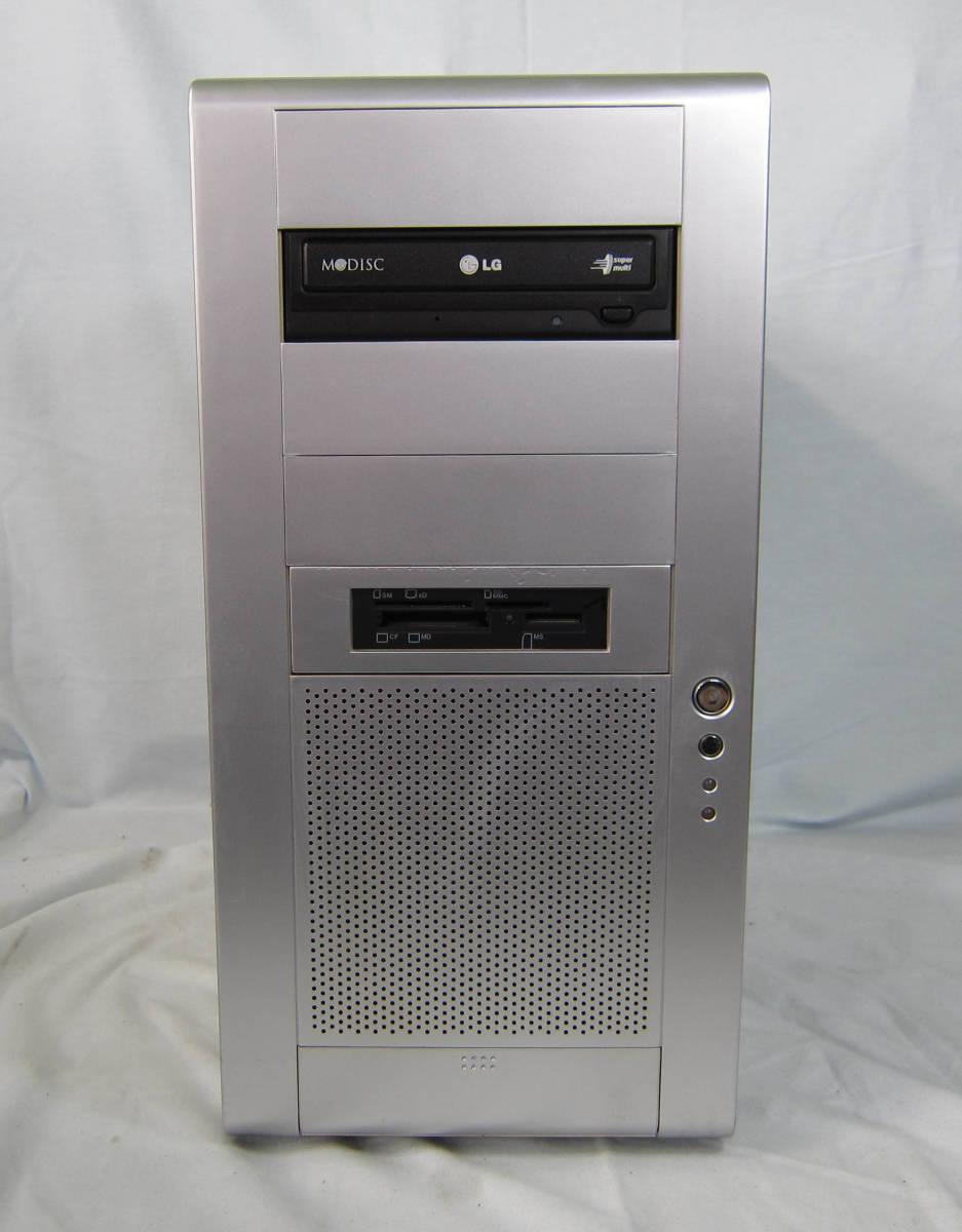 ●M112 自作 タワー型デスクトップ アルミケース Corei5-3570K 3.4GHz/8GB/1TB+640GB/DVDマルチ/GeForce GTX650/Win10_画像2