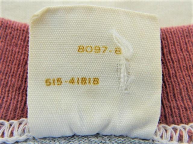 ビンテージ 50s60s TOWNCRAFT タウンクラフト OLD Tシャツ 初期1st グレー霜降り杢 リンガートリム ツートン 旧タグ旧ロゴ ワーク カレッジ_画像5