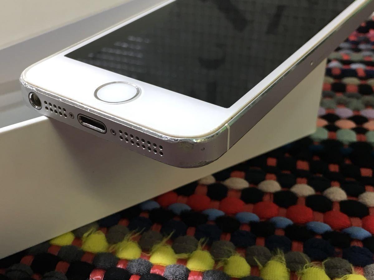 ランクB 即決価格有 iPhone 5s 16GB シルバー【do】残債なし 良品_画像2