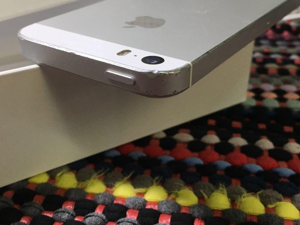 ランクB 即決価格有 iPhone 5s 16GB シルバー【do】残債なし 良品_画像4