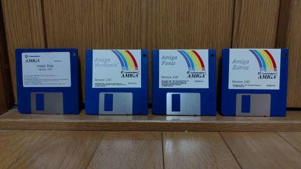 【フロッピーディスク】コモドールアミーガ Workbench 2.05 Commodore Amiga