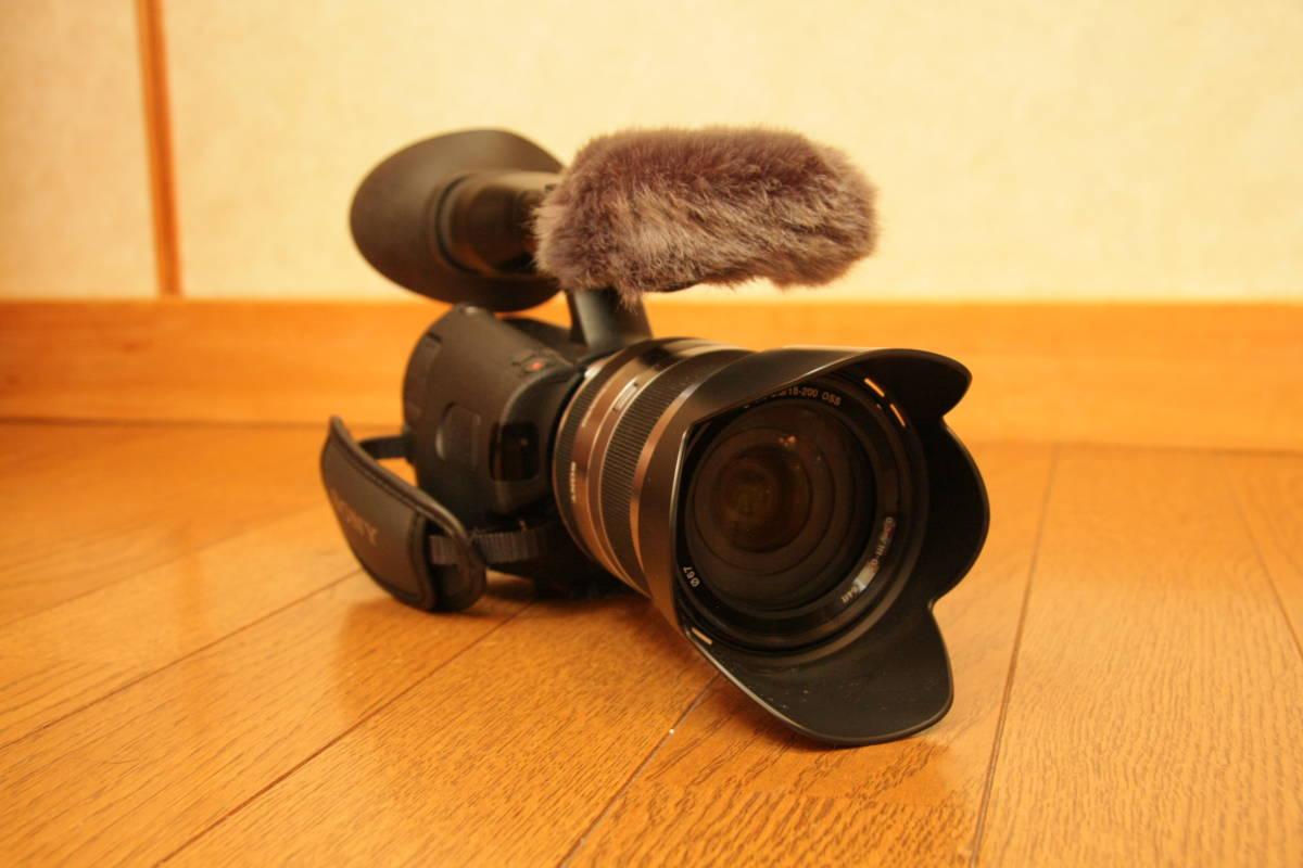 SONY NEX-VG20H レンズ交換式デジタルHDビデオカメラレコーダー_画像2