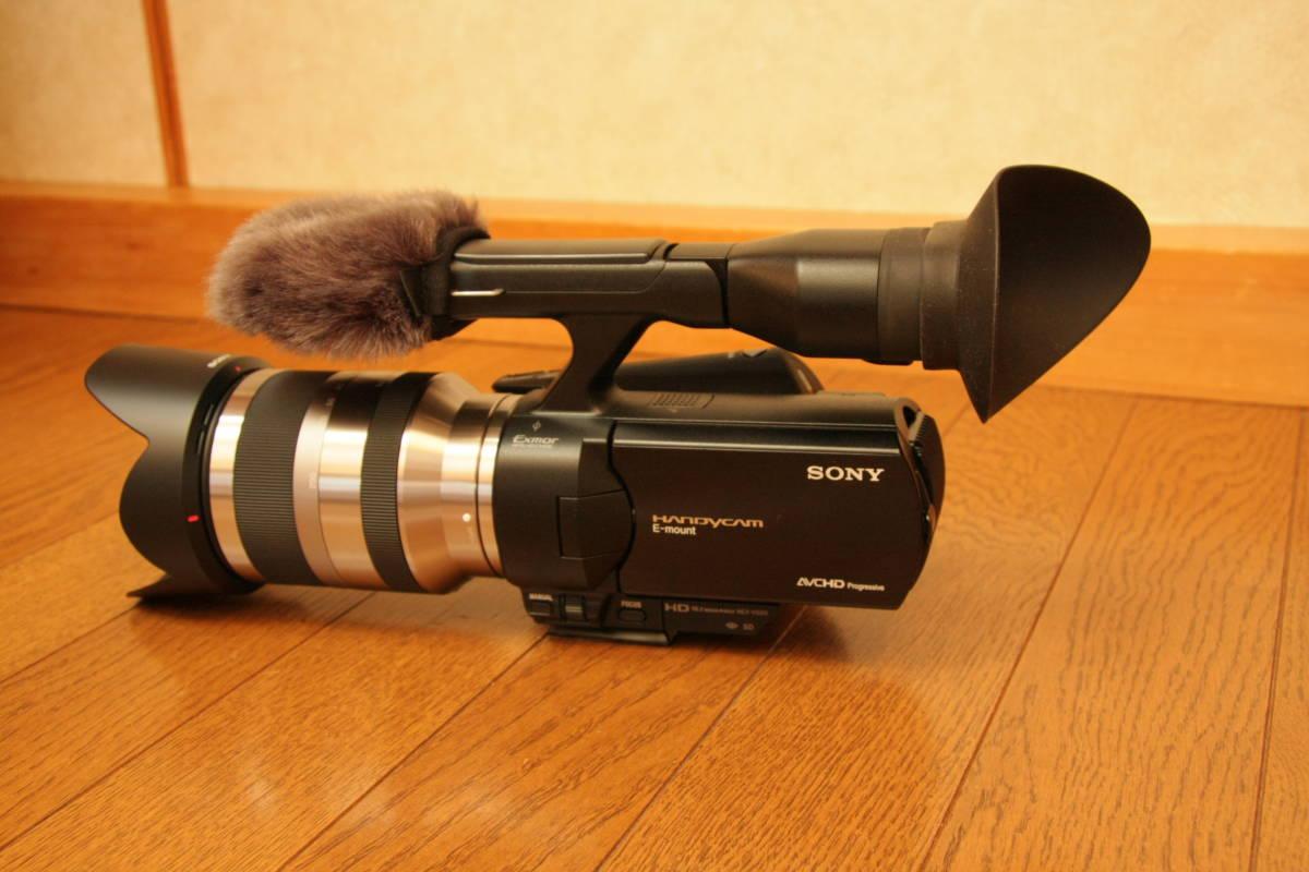 SONY NEX-VG20H レンズ交換式デジタルHDビデオカメラレコーダー_画像3