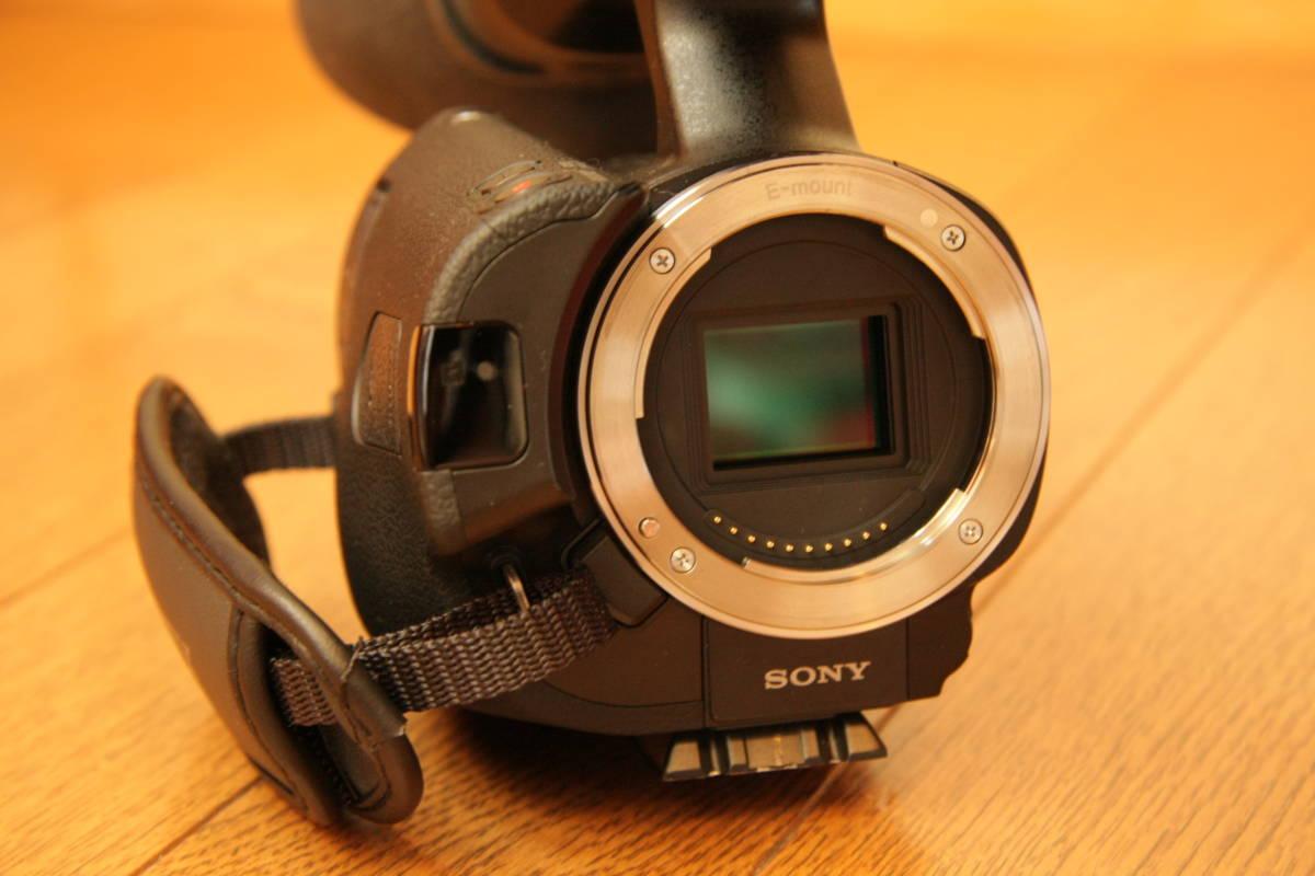 SONY NEX-VG20H レンズ交換式デジタルHDビデオカメラレコーダー_画像5