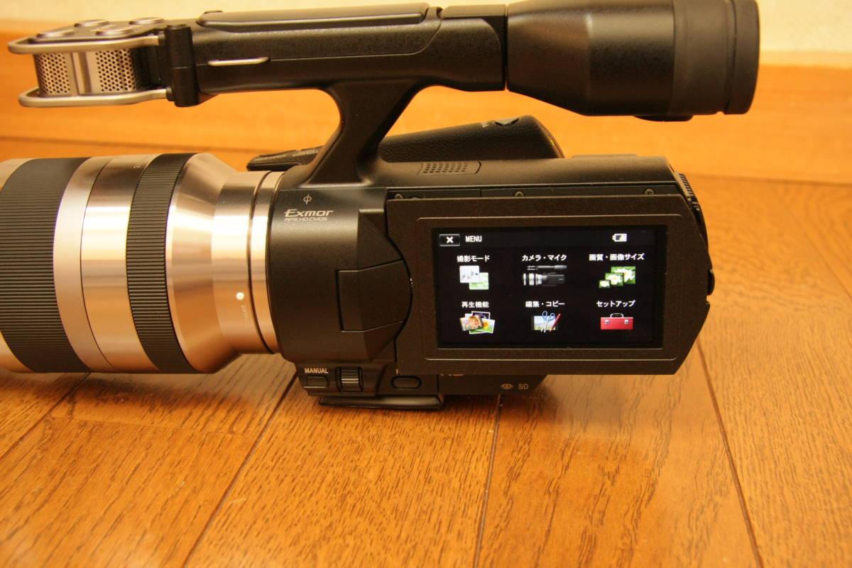 SONY NEX-VG20H レンズ交換式デジタルHDビデオカメラレコーダー_画像6