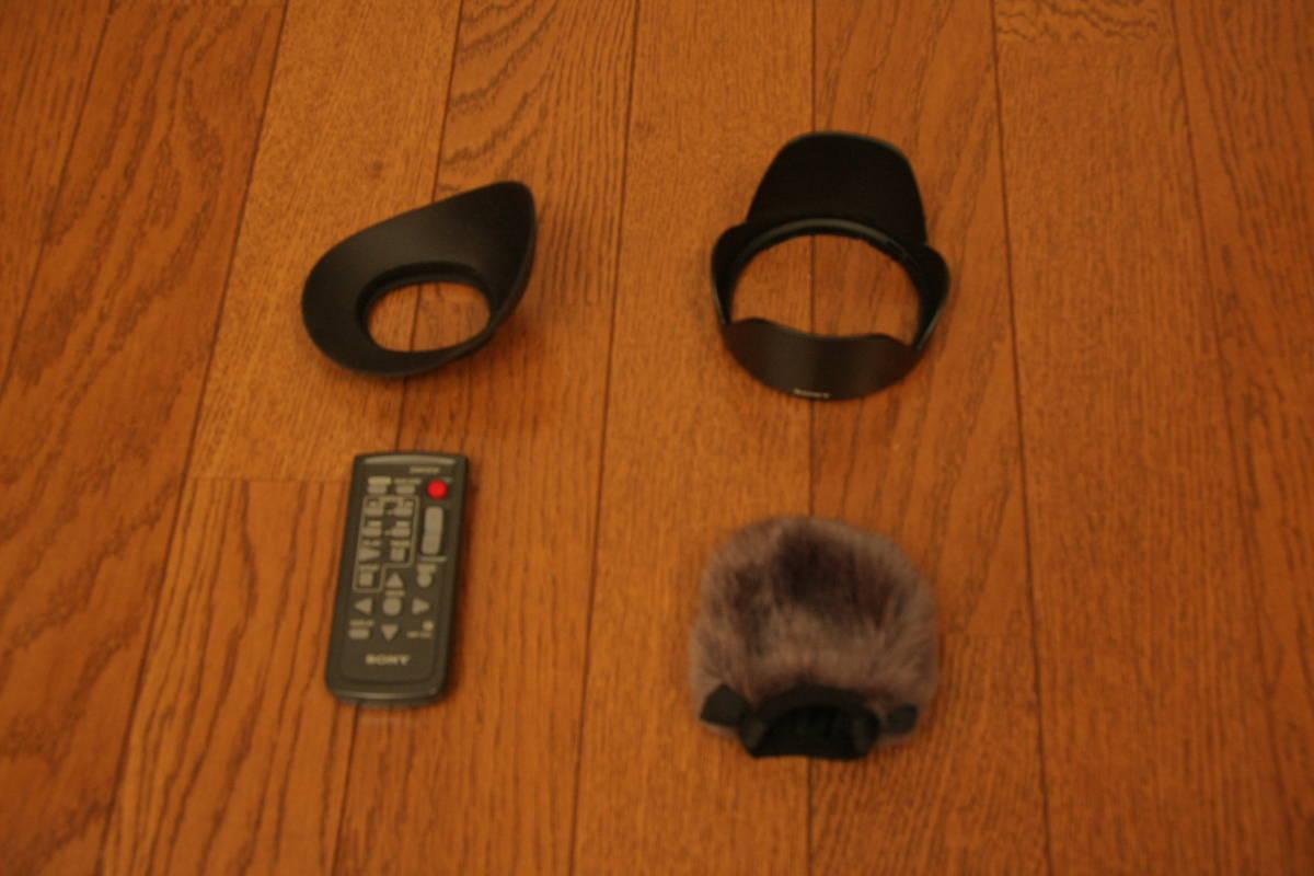 SONY NEX-VG20H レンズ交換式デジタルHDビデオカメラレコーダー_画像8