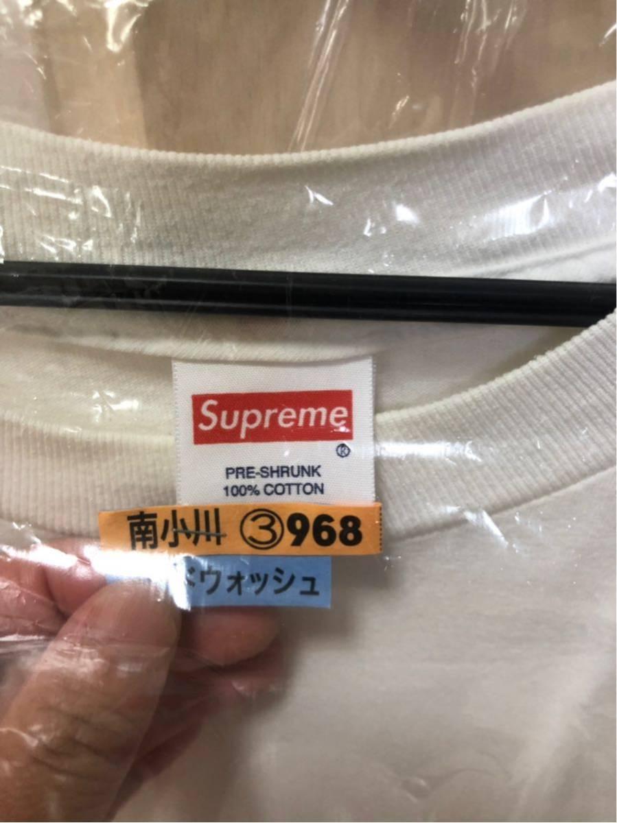 supreme ダミアンハーストT 白L_画像3