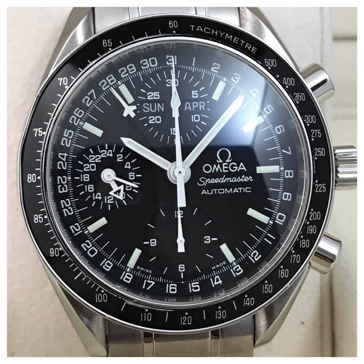 付属品付き☆OH済み美品のオメガ・スピードマスター時計・マーク40・コスモス☆