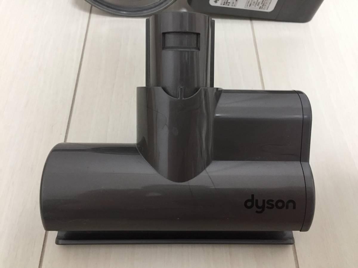 ★dyson ダイソン サイクロン式 コードレス 掃除機 DC61 分解 清掃済み 美品 純正充電器 動作確認済み 車 カー クリーナー DC62 DC74 V6 _画像9