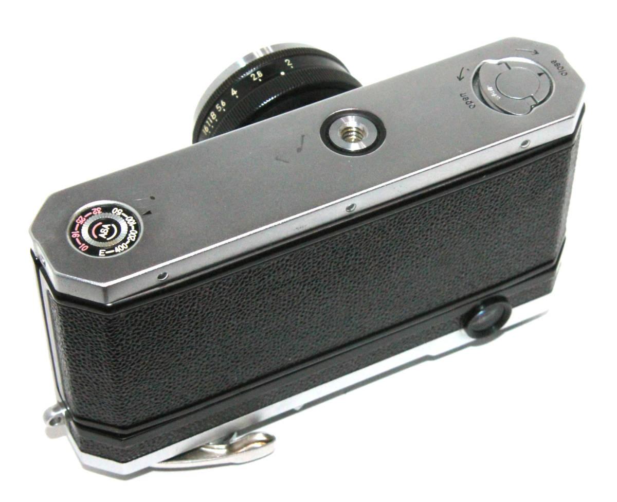 貴重 完動美品 ニコン S2 後期・ブラックダイヤル クロームボディ+50mm F2 後期・ブラック仕様付き_画像4