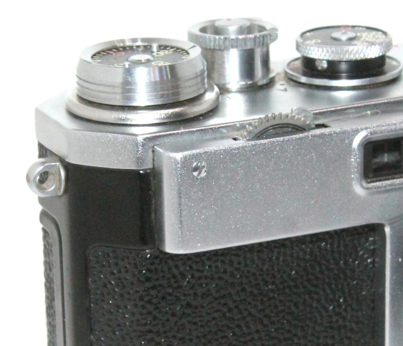 貴重 完動美品 ニコン S2 後期・ブラックダイヤル クロームボディ+50mm F2 後期・ブラック仕様付き_画像5