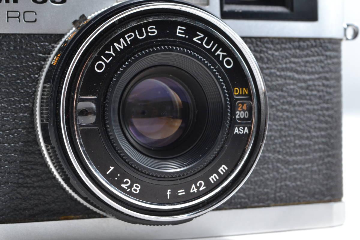 オリンパス Olympus 35 RC レンジファインダー フィルムカメラ E.Zuiko 1:2.8 42mm #003_画像2