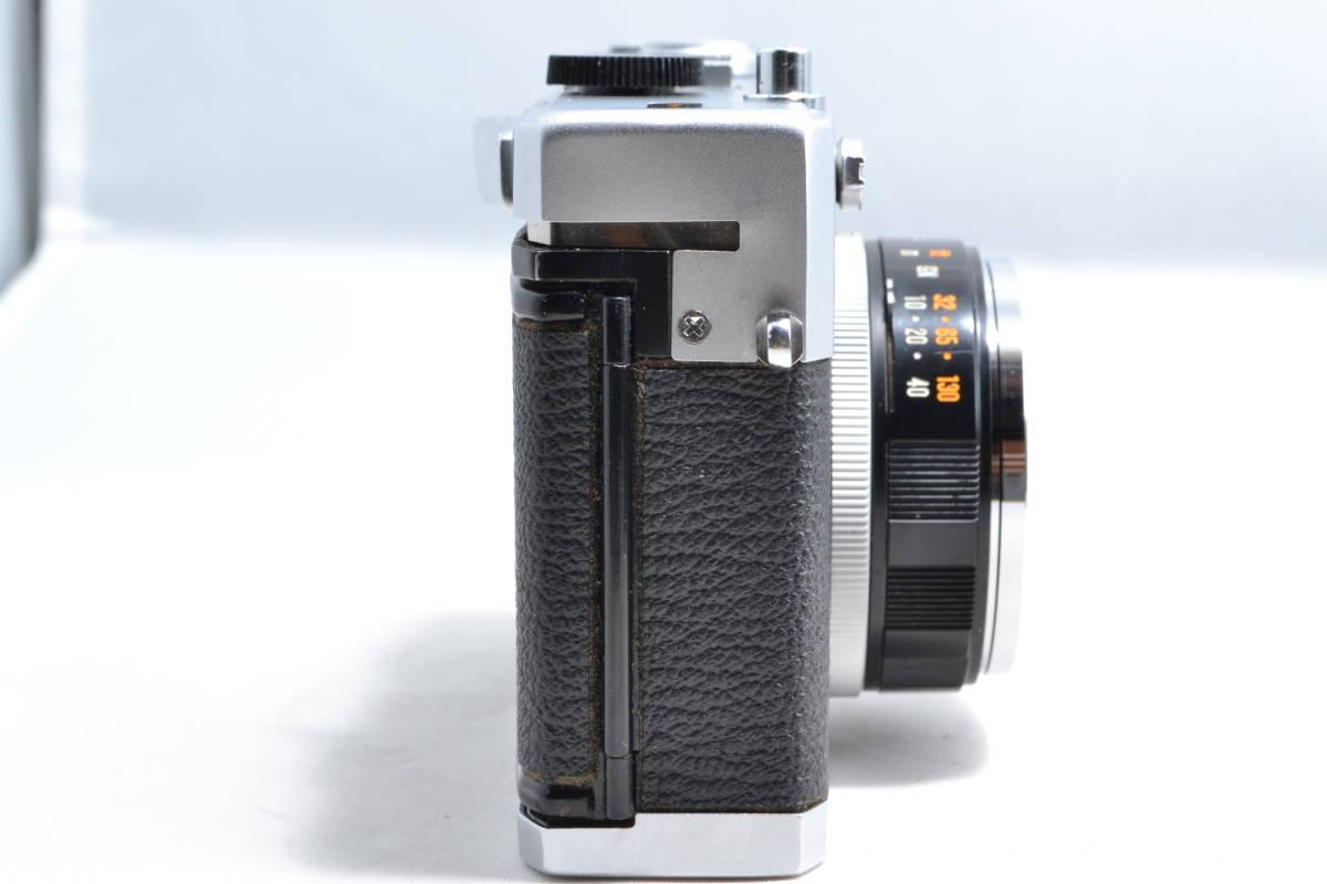 オリンパス Olympus 35 RC レンジファインダー フィルムカメラ E.Zuiko 1:2.8 42mm #003_画像3