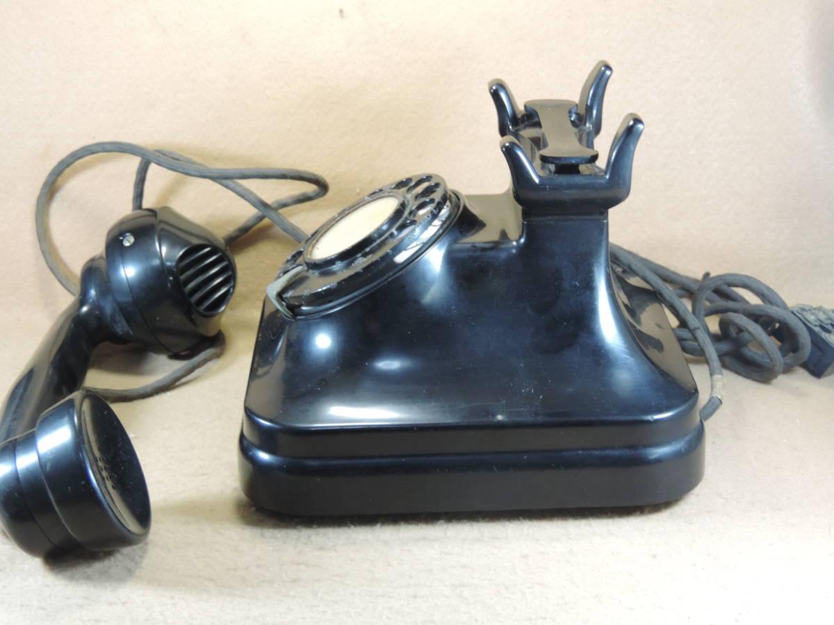黒電話 3号機自動式卓上電話機 レトロ電話機 アンティーク電話機 インテリア 少なく希少になって来た黒電話機_画像5