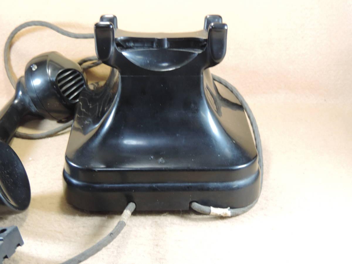 黒電話 3号機自動式卓上電話機 レトロ電話機 アンティーク電話機 インテリア 少なく希少になって来た黒電話機_画像6