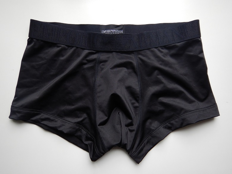 EMPORIO ARMANI エンポリアアルマーニ アンダーウェア 下着 M メンズ ボクサーブリーフ 黒 ブラック 新品