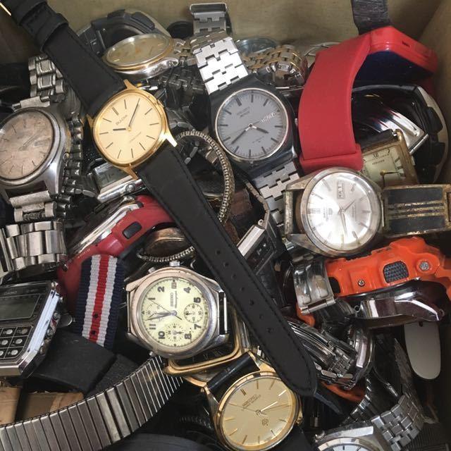 腕時計 250本セット ブローバ セイコー ラドー シチズン 機械式 自動巻き SEIKO CITIZEN RADO BULOVA WATCH ビンテージ アンティーク_画像3