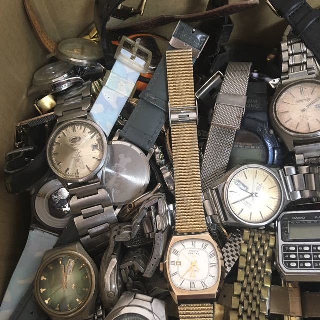 腕時計 250本セット ブローバ セイコー ラドー シチズン 機械式 自動巻き SEIKO CITIZEN RADO BULOVA WATCH ビンテージ アンティーク_画像2