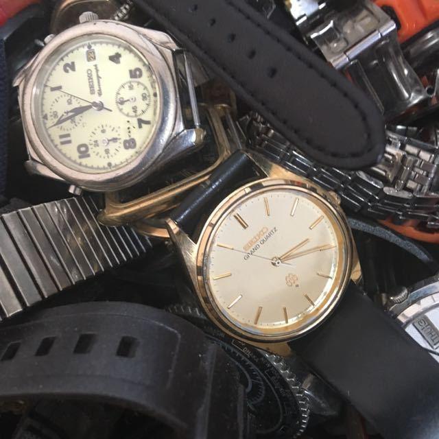 腕時計 250本セット ブローバ セイコー ラドー シチズン 機械式 自動巻き SEIKO CITIZEN RADO BULOVA WATCH ビンテージ アンティーク_画像6