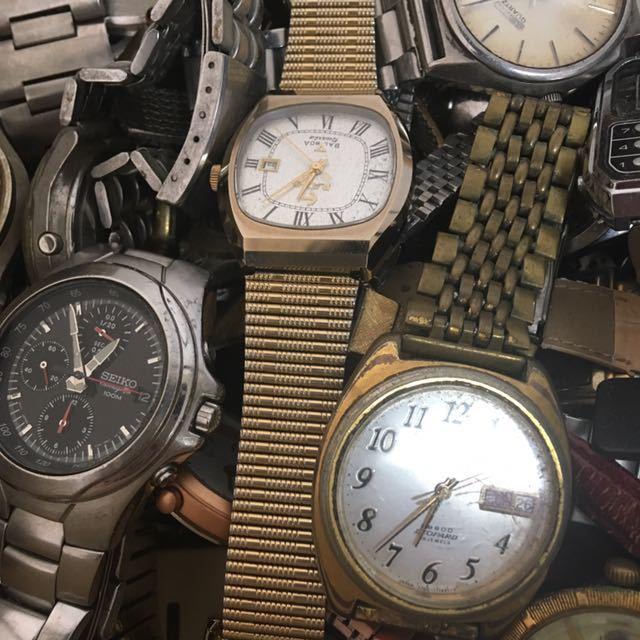 腕時計 250本セット ブローバ セイコー ラドー シチズン 機械式 自動巻き SEIKO CITIZEN RADO BULOVA WATCH ビンテージ アンティーク_画像7