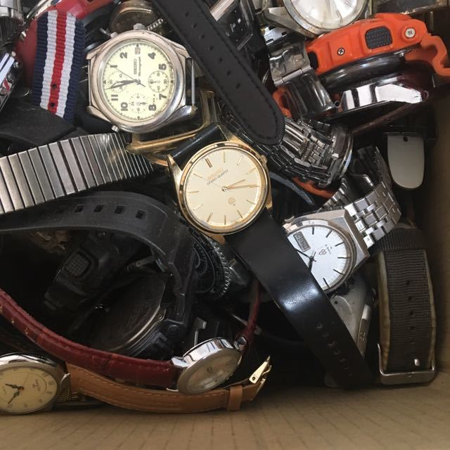 腕時計 250本セット ブローバ セイコー ラドー シチズン 機械式 自動巻き SEIKO CITIZEN RADO BULOVA WATCH ビンテージ アンティーク_画像4