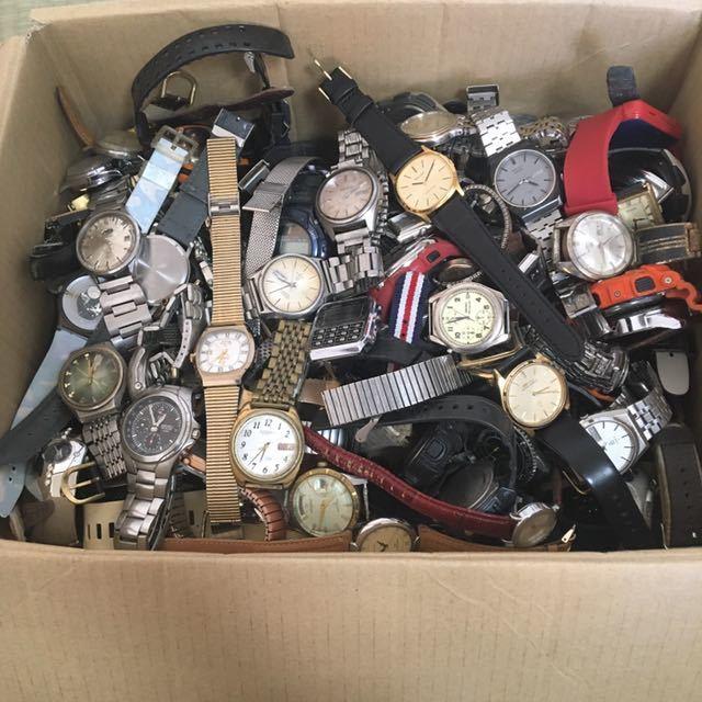 腕時計 250本セット ブローバ セイコー ラドー シチズン 機械式 自動巻き SEIKO CITIZEN RADO BULOVA WATCH ビンテージ アンティーク