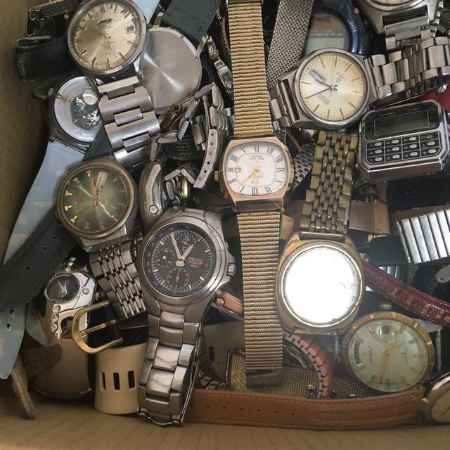 腕時計 250本セット ブローバ セイコー ラドー シチズン 機械式 自動巻き SEIKO CITIZEN RADO BULOVA WATCH ビンテージ アンティーク_画像5