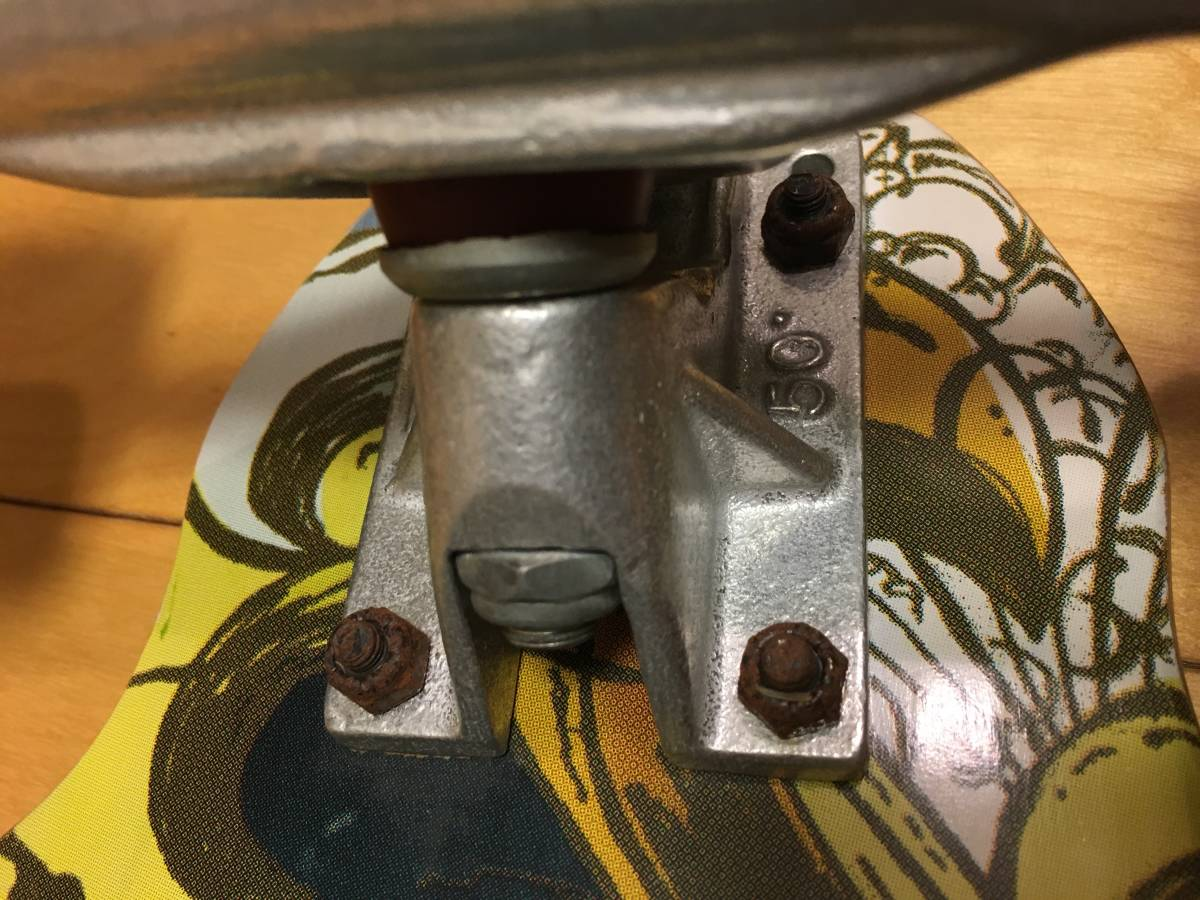 札幌発!グラビティーGRAVITY ロングボードコンプリート LONG SKATEBOARD CARVER サーフスケート Buttons Kaluhiokalaniモデル_画像7
