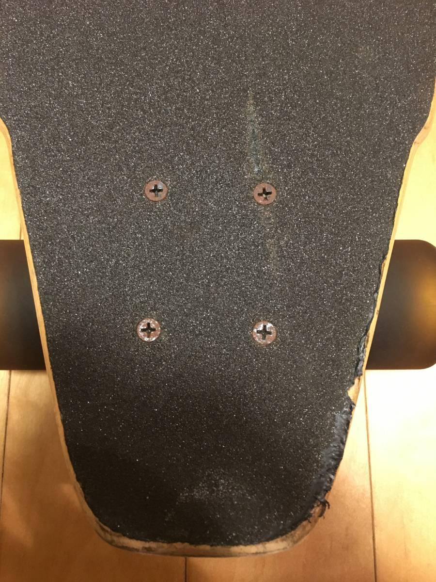 札幌発!グラビティーGRAVITY ロングボードコンプリート LONG SKATEBOARD CARVER サーフスケート Buttons Kaluhiokalaniモデル_画像4