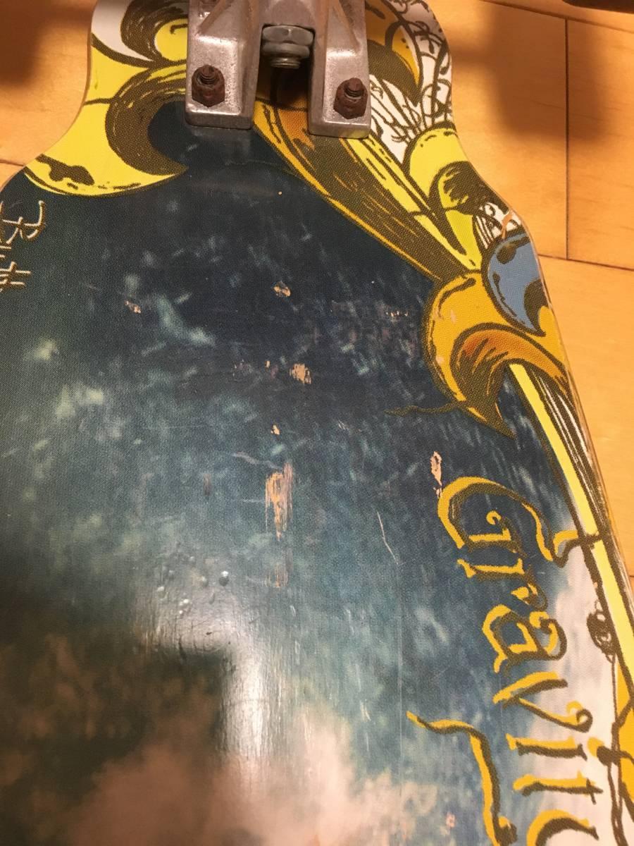 札幌発!グラビティーGRAVITY ロングボードコンプリート LONG SKATEBOARD CARVER サーフスケート Buttons Kaluhiokalaniモデル_画像10