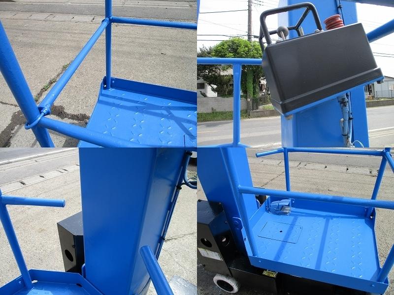 アイチ製 SV-04B■最大作業高5.8M 垂直昇降型 自走式高所作業車 D_画像5