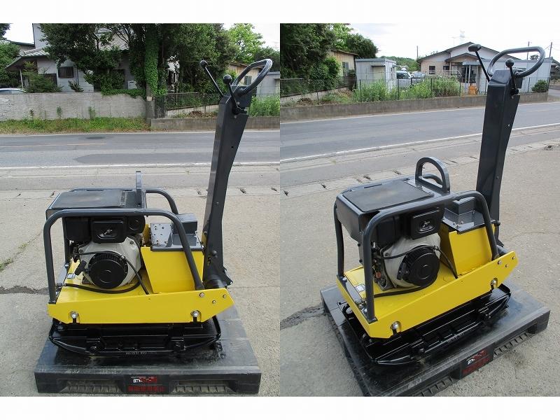 極美品 セル付き 転圧機■BPR40/45D 350kg ディーゼル 全塗装&整備済
