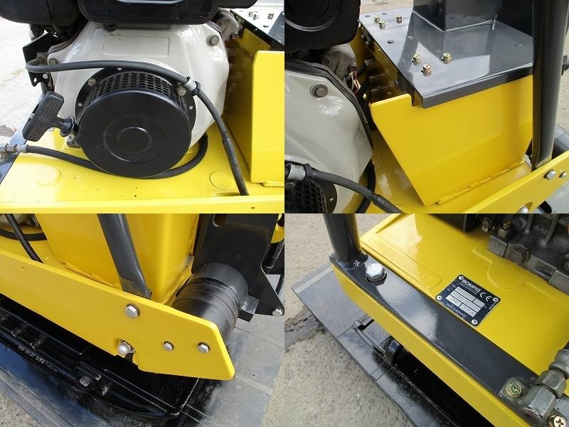極美品 セル付き 転圧機■BPR40/45D 350kg ディーゼル 全塗装&整備済_画像3