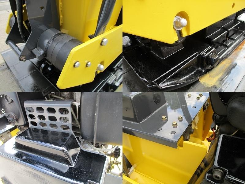 極美品 セル付き 転圧機■BPR40/45D 350kg ディーゼル 全塗装&整備済_画像4