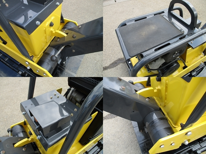 極美品 セル付き 転圧機■BPR40/45D 350kg ディーゼル 全塗装&整備済_画像8
