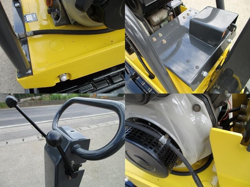 極美品 セル付き 転圧機■BPR40/45D 350kg ディーゼル 全塗装&整備済_画像9