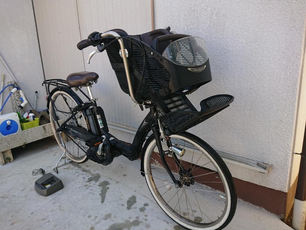 新基準 BRIDGESTONE Angelino ブリヂストン アンジェリーノ 8.1Ah 前子供乗せ 電動アシスト自転車 電動自転車_画像8