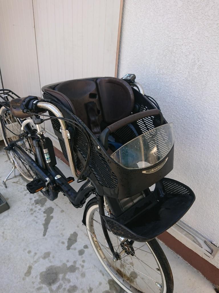 新基準 BRIDGESTONE Angelino ブリヂストン アンジェリーノ 8.1Ah 前子供乗せ 電動アシスト自転車 電動自転車_画像2
