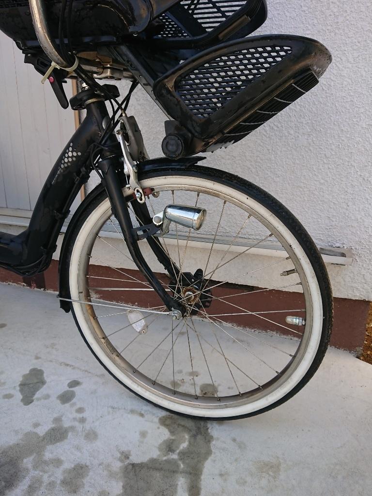 新基準 BRIDGESTONE Angelino ブリヂストン アンジェリーノ 8.1Ah 前子供乗せ 電動アシスト自転車 電動自転車_画像3