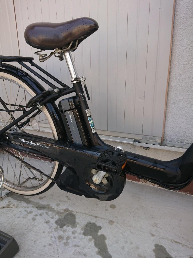 新基準 BRIDGESTONE Angelino ブリヂストン アンジェリーノ 8.1Ah 前子供乗せ 電動アシスト自転車 電動自転車_画像5